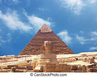 ピラミッド, スフィンクス, ギザ