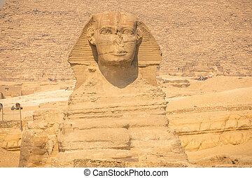 ピラミッド, スフィンクス, 偉人