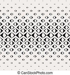 ピラミッド, パターン, 抽象的, seamless, ベクトル, 黒い長方形