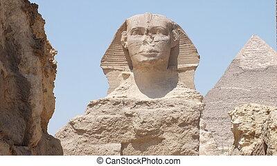 ピラミッド, 台なし, スフィンクス