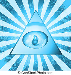 ピラミッド, 目