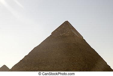 ピラミッド, khafre, 日光