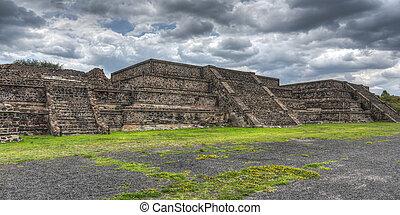 ピラミッド, teotihuacan, メキシコ\