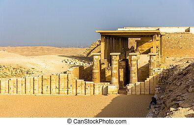 ピラミッド, zoser, -, saqqara, エジプト, hypostyle, ホール