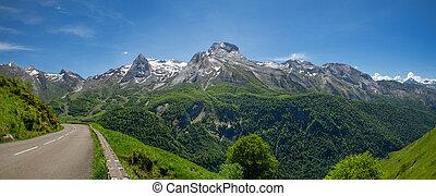 ピレネー山脈, フランス語, col, aubisque, 道