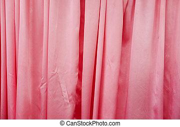 ピンクのカーテン, 背景