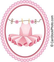 ピンクのチュチュ, ラベル