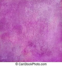 ピンクの背景, 手ざわり