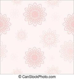 ピンクの花, seamless, 背景