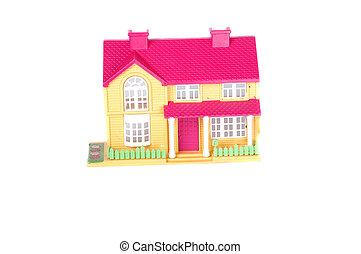 ピンク, おもちゃの家