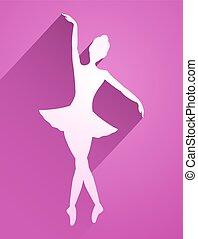 ピンク, ダンサー, アイコン