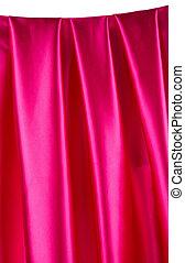 ピンク, バックグラウンド。, 絹