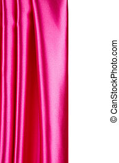 ピンク, バックグラウンド。, 絹, 手ざわり