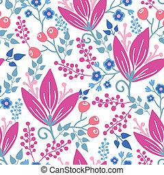 ピンク, パターン, 花, seamless, 背景