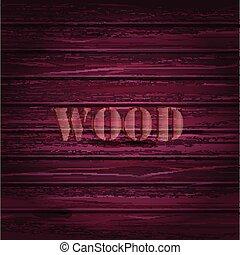 ピンク, ベクトル, text., 木, 背景, texture.
