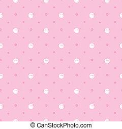 ピンク, ポルカドット