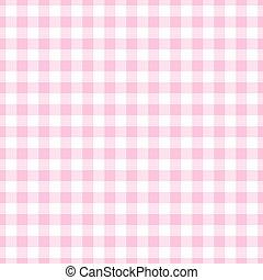 ピンク, ライト, ギンガム, plaid, seamless