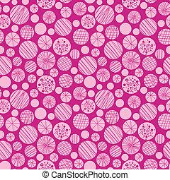 ピンク, 円, パターン, 抽象的, seamless, 背景, textured