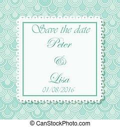 ピンク, 円, 結婚式, 背景, 招待