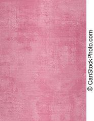 ピンク, 壁, プラスター, グランジ, しみになる
