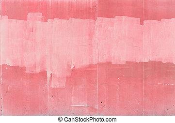 ピンク, 壁