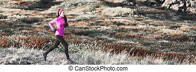 ピンク, 山, 訓練, 女, 冬, 道, ランナー, 旗, 身に着けていること, バックグラウンド。, 動くこと, 天候, レギング, アジア人, 運動選手, outdoors., 女の子, clothing., cardio, 寒い, 暖かい