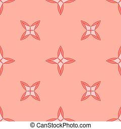 ピンク, 幾何学的, pattern., seamless