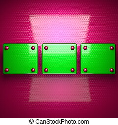 ピンク, 明るい, 緑の背景