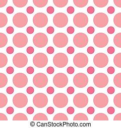 ピンク, 点, ポルカ