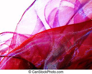 ピンク, 絹