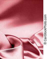 ピンク, 絹, 贅沢, 背景