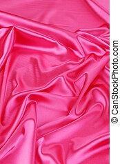 ピンク, 絹, drapery.
