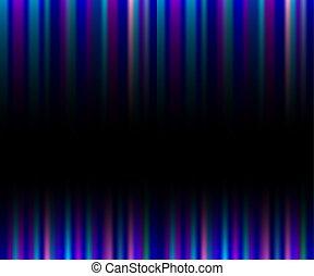 ピンク, 縦, 紫色, 抽象的, ネオン, ストライプ, 黒い背景