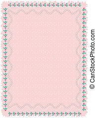 ピンク, 背景, vector.