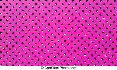 ピンク, 薄板金, 穴