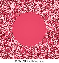 ピンク, 装飾用, カード