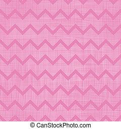 ピンク, 要素, 生地 パターン, ストライプ, seamless, 山形そで章, ベクトル, 背景, textured, 引かれる, 手