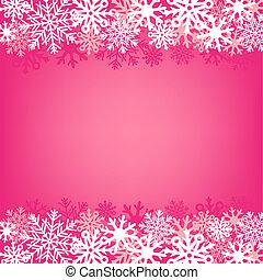 ピンク, 雪, 背景