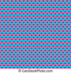 ピンク, 青, seamless, 背景, 波