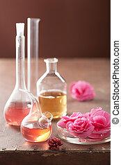 ピンク, aromatherapy, 錬金術, 花