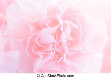 ピンク, bouquet., filter., カーネーション, 花, 柔らかい