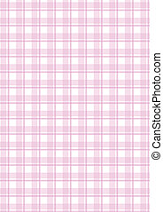 ピンク, checkered, ベクトル, 背景
