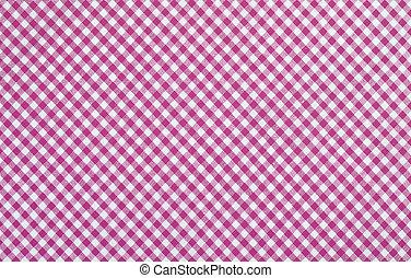 ピンク, checkered, 生地