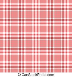 ピンク, plaid, seamless, パターン, 広場, 赤