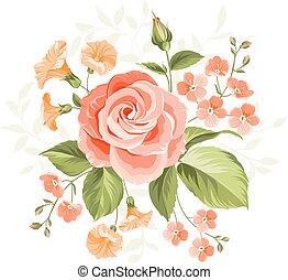 ピンク, rose.
