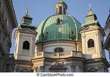 ピーター, 教会, st., ウィーン