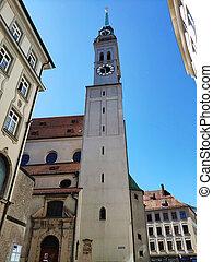 ピーター, st. 。, 教会, タワー, ミュンヘン, ドイツ