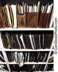 ファイル, 上に, 棚, ∥ために∥, ビジネス, 法律, 法的, レコード