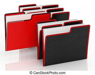 ファイル, 意味, ペーパーワーク, 組織化する