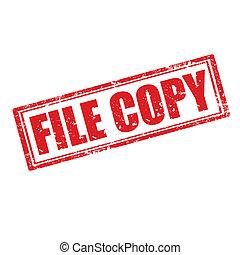ファイル, copy-stamp